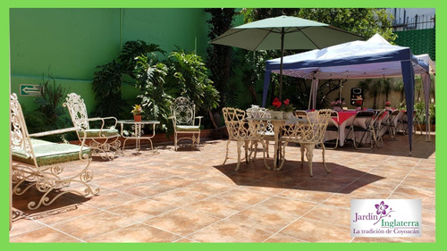 jardín y espacios para eventos en coyoacan