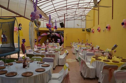 jardín y salón de fiestas tuux