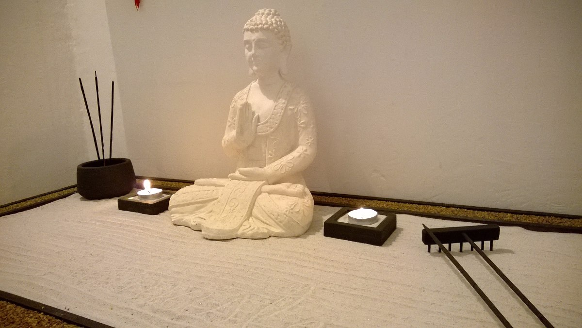 jardin zen metro con siddhartha extra grande