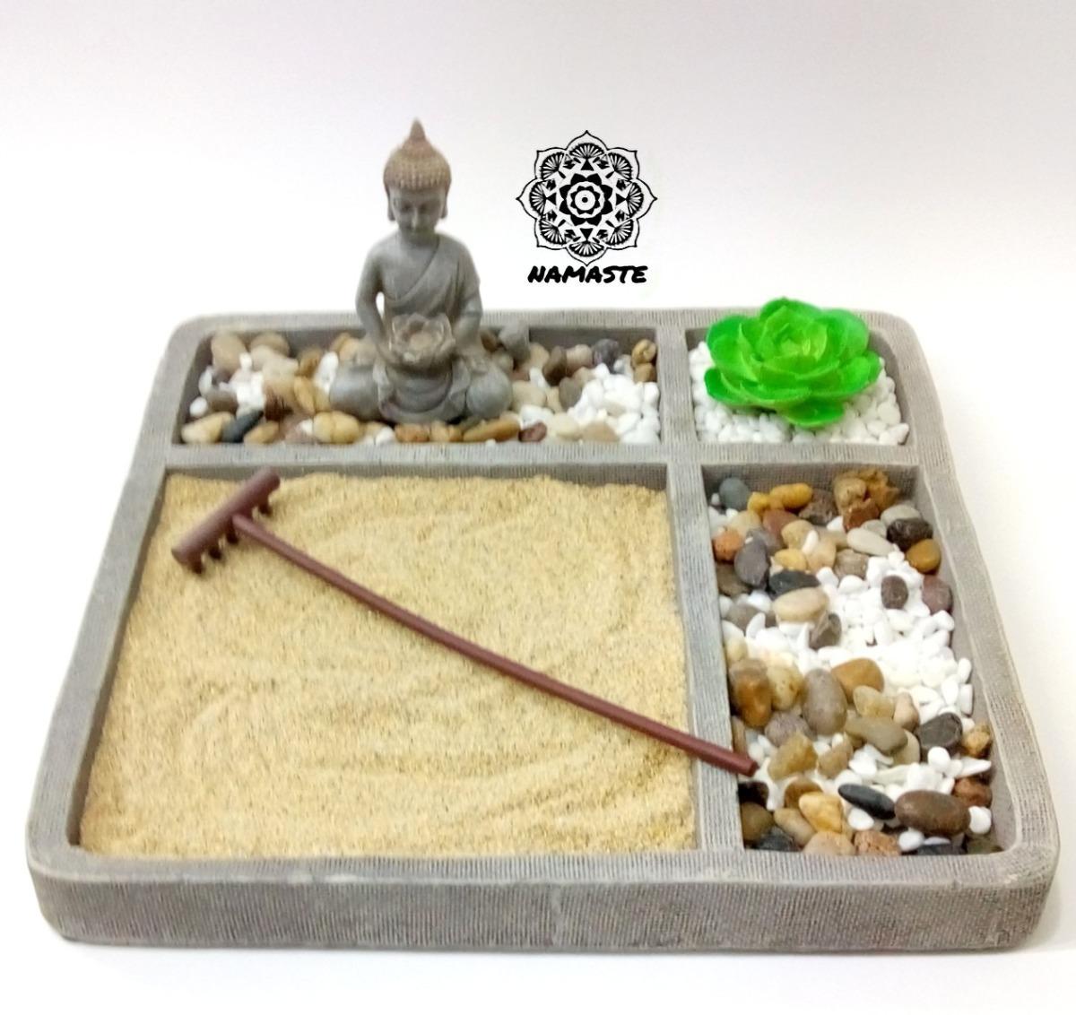Jard n zen buda flor de loto feng shui budismo tibetano for Todo jardin herramientas