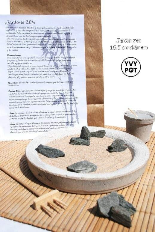 jardn zen miniatura japons feng shui meditar meditacin