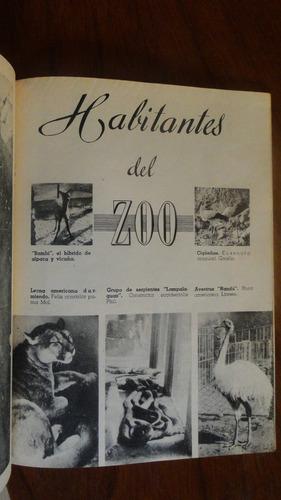 jardin zoologico nacional - 1950