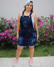 1ff521c67 Jardineira Saia Plus Size - Calçados, Roupas e Bolsas no Mercado Livre  Brasil