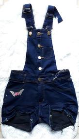f101e862f Jardineira Jeans Adulto - Calçados, Roupas e Bolsas no Mercado Livre Brasil