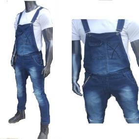 371357aaf Macacao Jeans Masculino Rasgado - Calçados, Roupas e Bolsas no Mercado  Livre Brasil