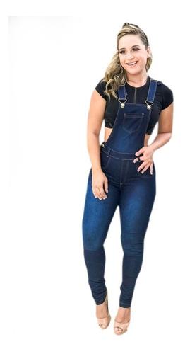 jardineira jeans ref. 1041