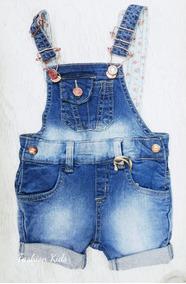 7774317378e554 Macacao Jeans Bege - Macacão de Bebê no Mercado Livre Brasil