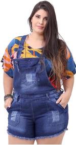 0133c8bbd Jardineira Saia Plus Size - Calçados, Roupas e Bolsas no Mercado ...