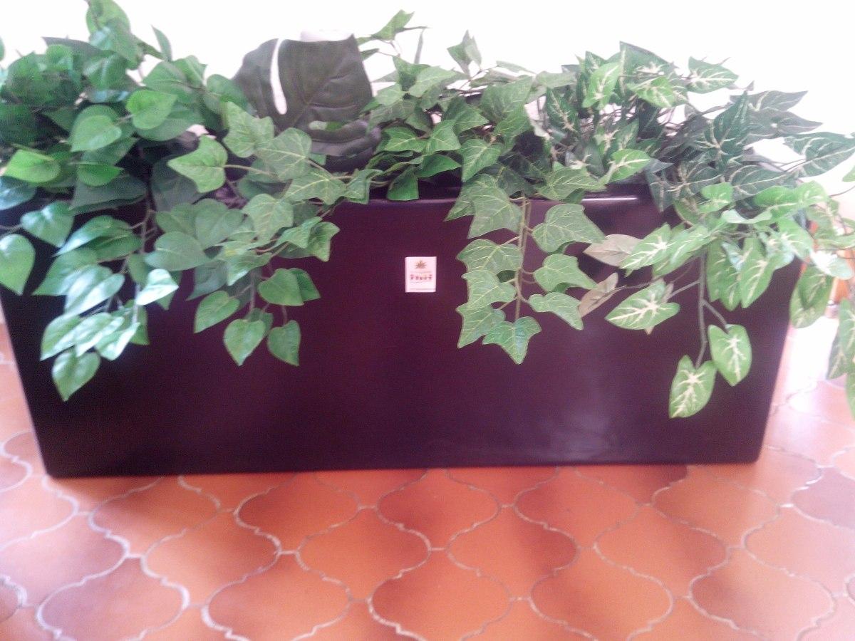 Jardinera con plantas artificiales 3 en mercado - Jardineras con plantas ...