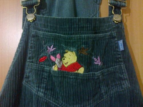 jardinera disney diseño oso pooh talla s