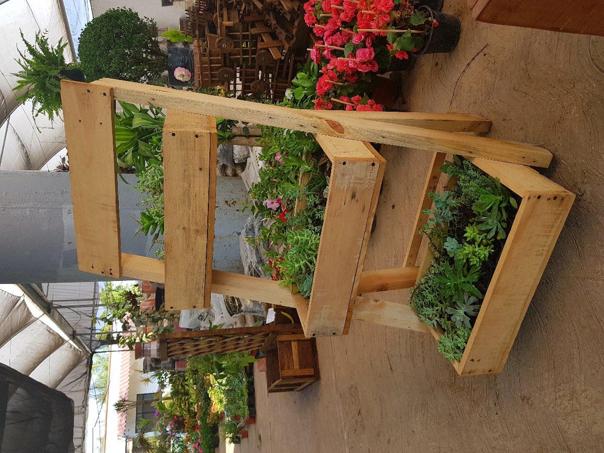 Jardinera escalera vintage rustica macetera de madera - Jardineras en escalera ...