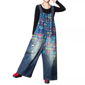 83cd84a9730 Jardinera Mezclilla Mujer Talla 48 - Vestuario y Calzado en Mercado ...