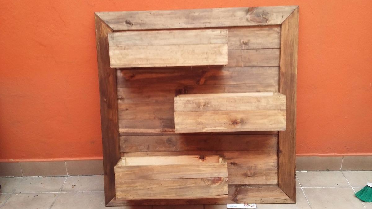 Jardinera palet vintage madera reciclada pallets tarima for Precio tarima madera