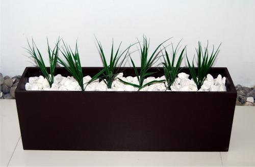 jardineradecorativaminimalistapiedrasplantas