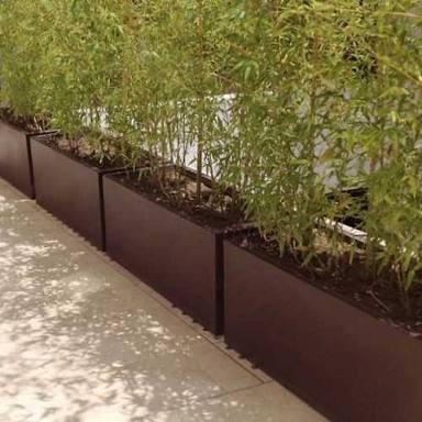 Jardineras de fibra de vidrio en mercado libre for Arbustos para macetas exterior