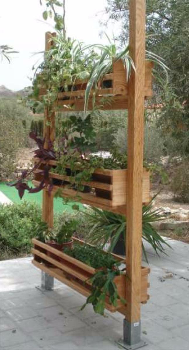 Jardineras de madera en mercado libre - Jardineras de madera caseras ...
