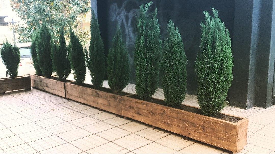 Jardineras de madera en mercado libre for Tipos de jardineras