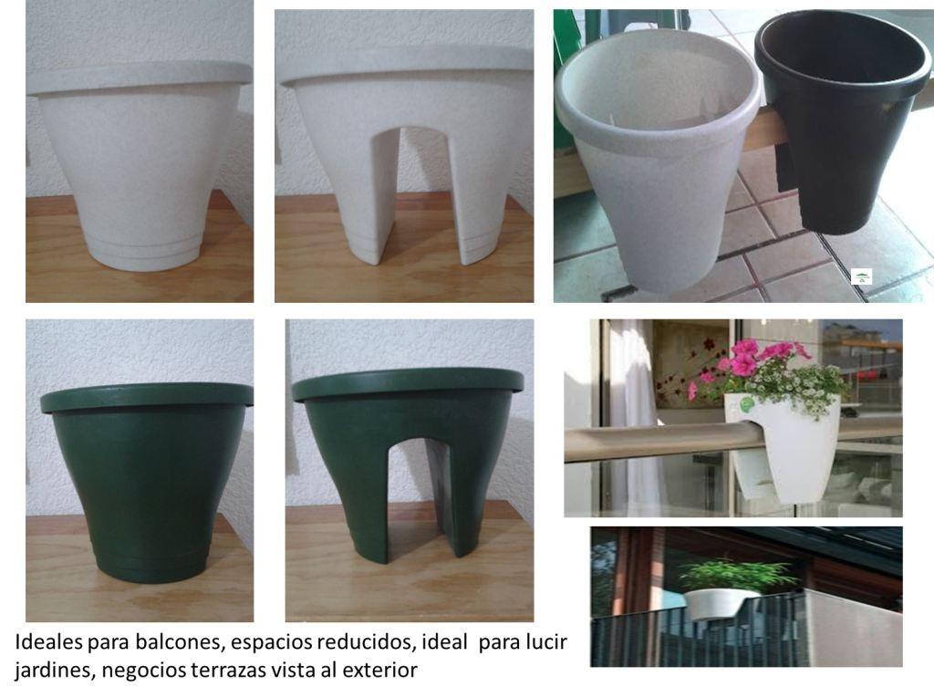 Jardineras macetas para flores y plantas en for Jardineras para balcones