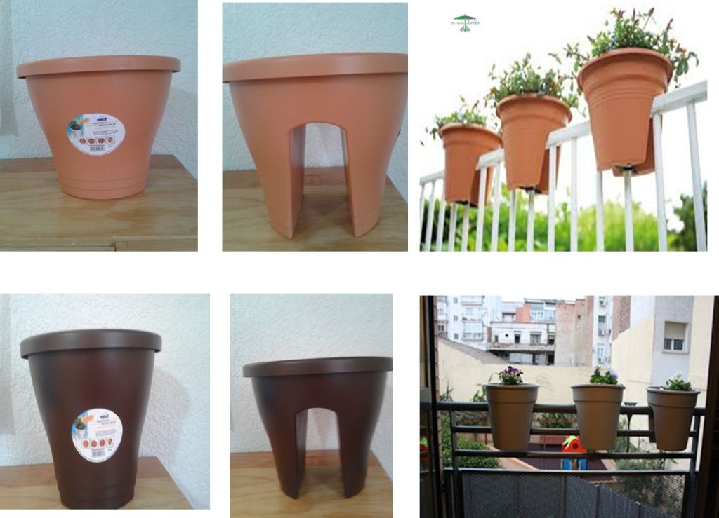 Jardineras macetas para flores y plantas en for Plantas macetas exterior