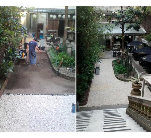 jardinería, mantenimiento servicio