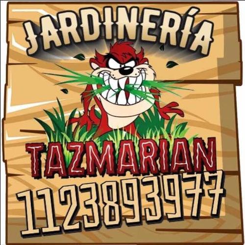 jardinería tazmarian  , san bernardo , la costa