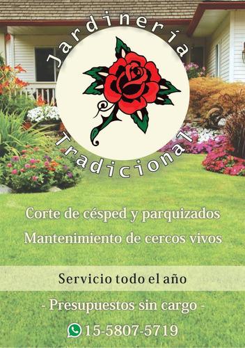 jardineria zona oeste jardinero