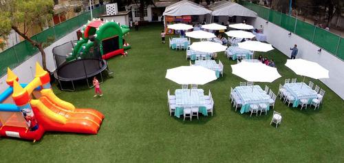 jardines de fiestas infantiles