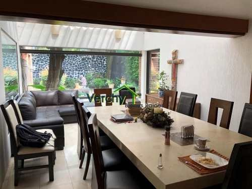 jardines del pedregal, grandiosa casa en venta