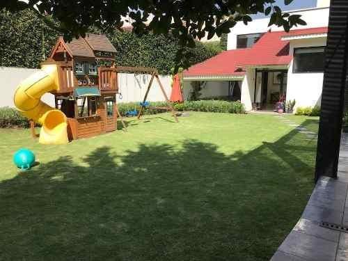 jardines del pedregal, impecable casa en exclusivo condominio de sólo 4 casas