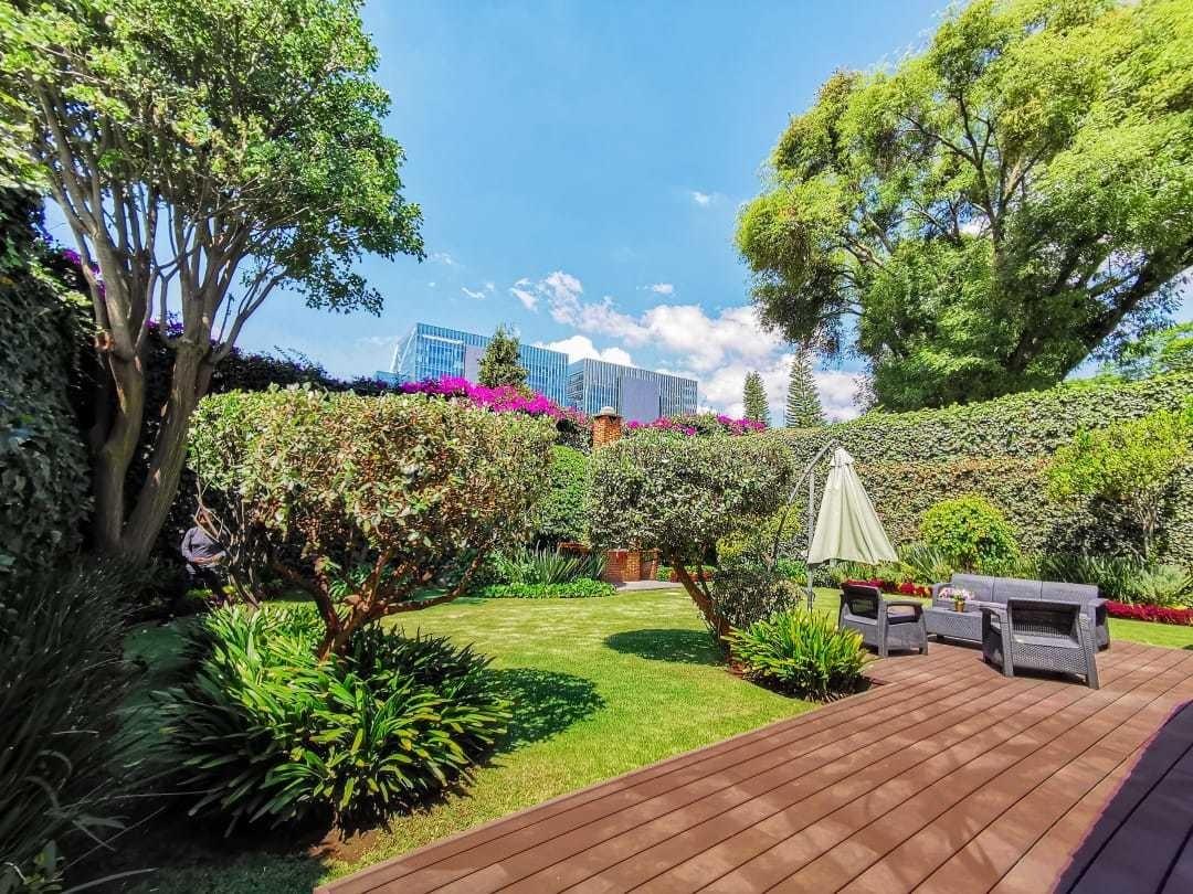 jardines del pedregal,  solo 1 nivel, 4 5 rec, alberca y dep