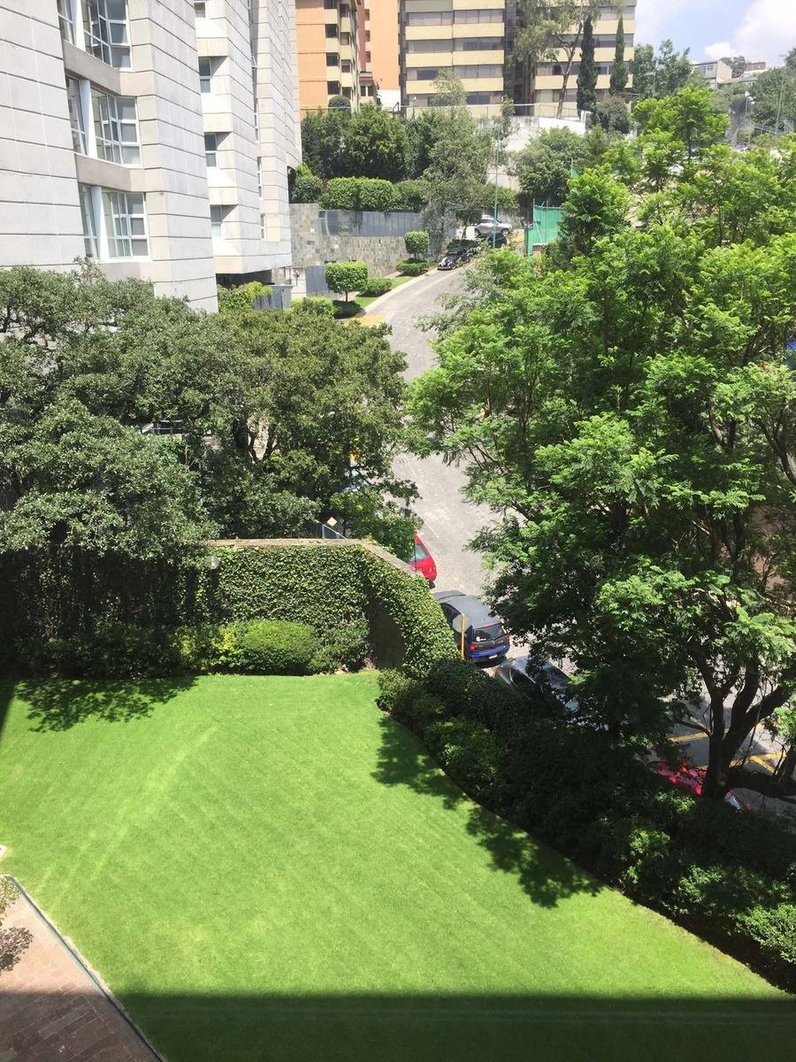 jardines en la montaña, departamento de lujo en 4to piso con vista al bosque