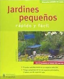 jardines pequeños (jardín en casa)(libro jardinería)