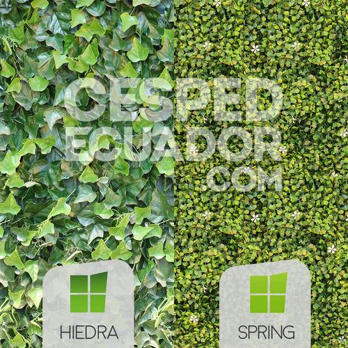 jardines verticales artificiales en quito y guayas