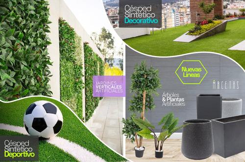 jardines verticales artificiales interior y exterior