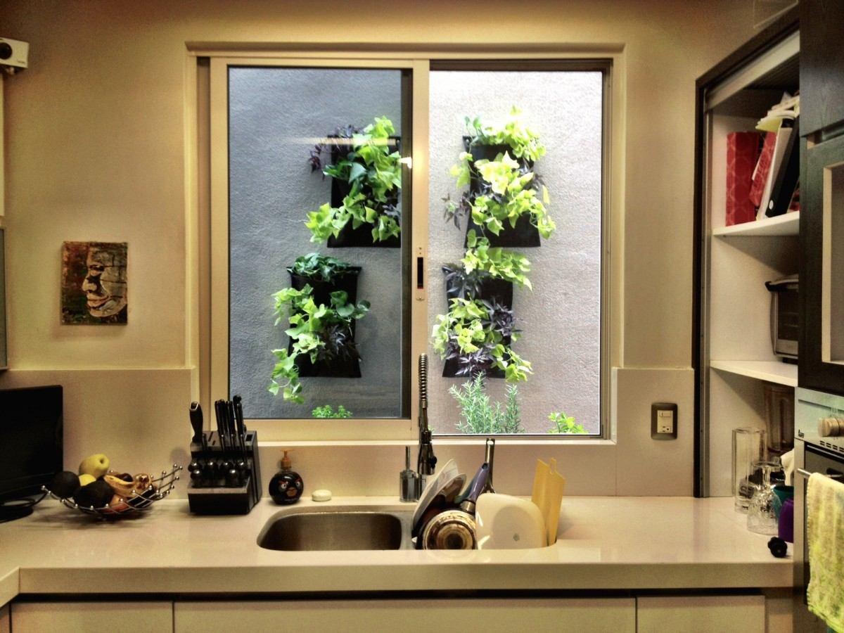 jardines verticales decoracin y plantas