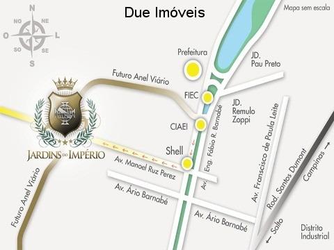 jardins do império, indaiatuba-terreno para venda - tr00964 - 33277420
