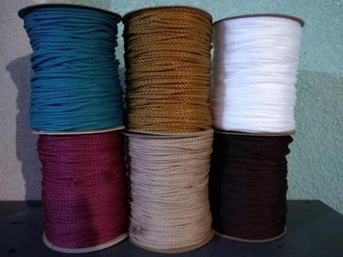 jareta macrame cordon rollo de 230 mts.colores disponibles