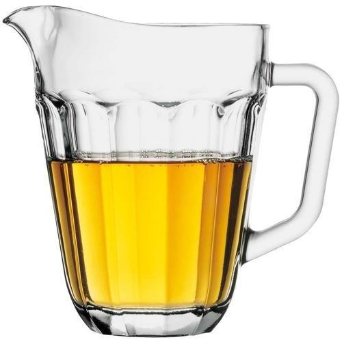 jarra 1,4 litros vidro para suco agua casa blanca pasabahce