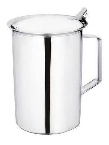 jarra aço inox com aparador ecolumi 1,5 litros  - gedex