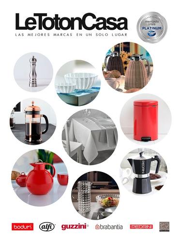 jarra acrilico guzzini belle epoque roja 1,7l. original