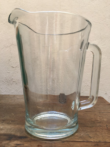 jarra agua vidrio caja c/6 piezas ( envio gratis ) aproveche