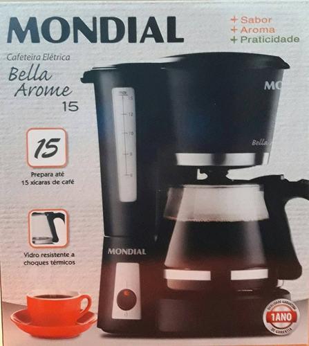jarra cafeteira mondial bella arome 15 cafés modelo c09