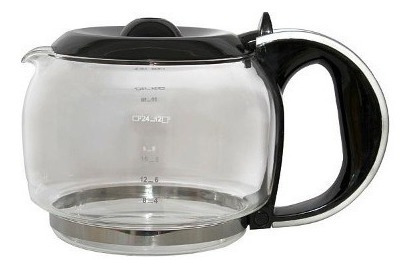 jarra cafetera electrolux negra 12 tzas. buon  giorno
