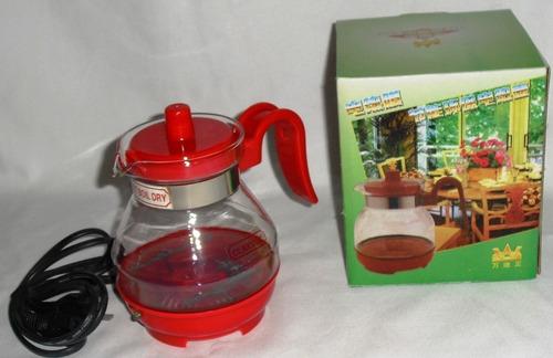 jarra calentador hervidor bebidas té café tetera eléctrica