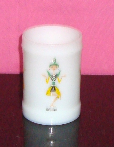 jarra chopera de opalina - excelente estado -