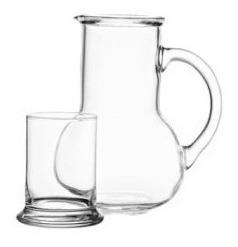 jarra cristal jarras
