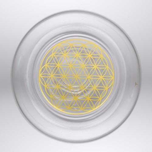jarra de agua vidrio libre de plomo alladin 2.3l