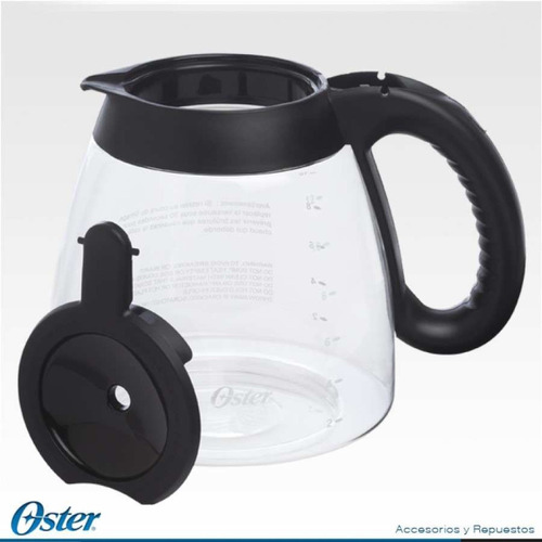 jarra de cafetera oster 12 tazas para 3304 4289 100% origina