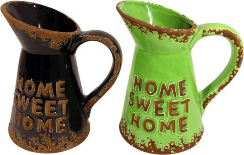 jarra de cerámica con diseño  impre$ionante  2071