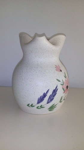 jarra de cerámica jarra pintada a mano  francia